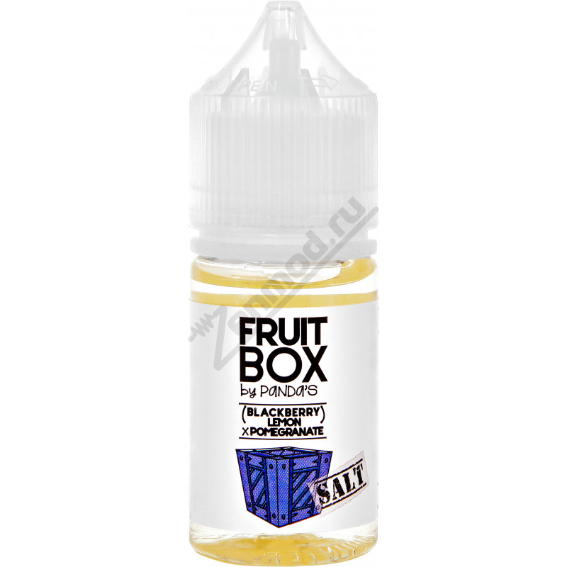 FRUITBOX SALT - (Blackberry Lemon) x Pomegranate 30мл